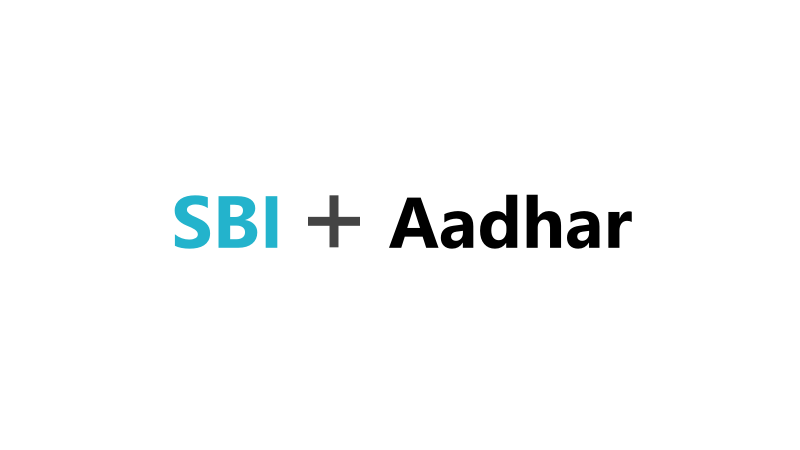 How To Link Aadhar With SBI Bank Account Online
