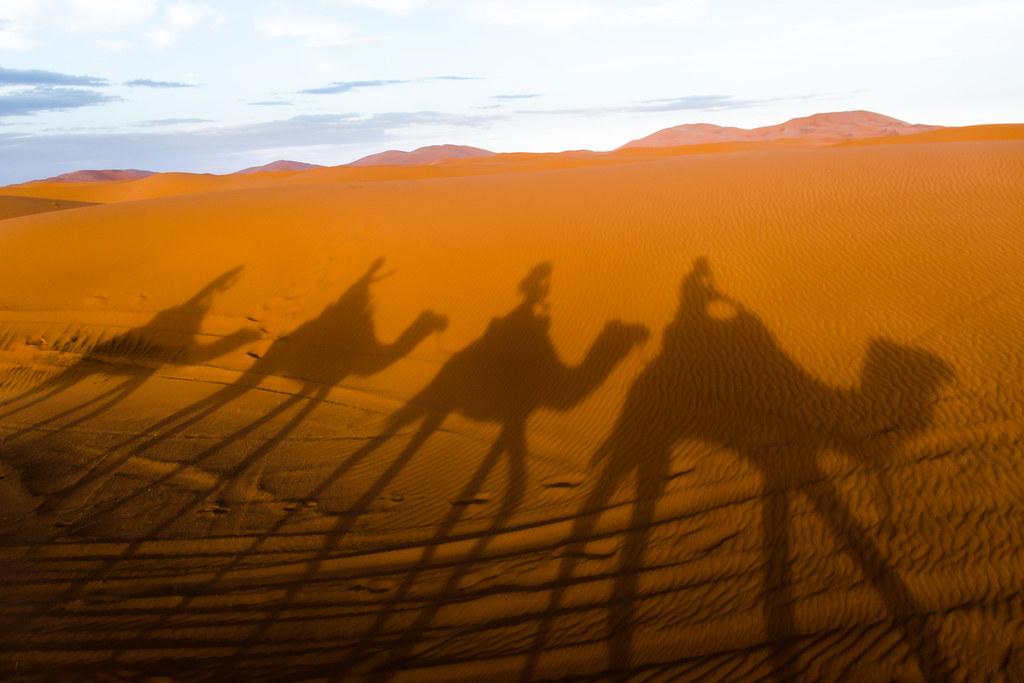 Fake Sahara desert