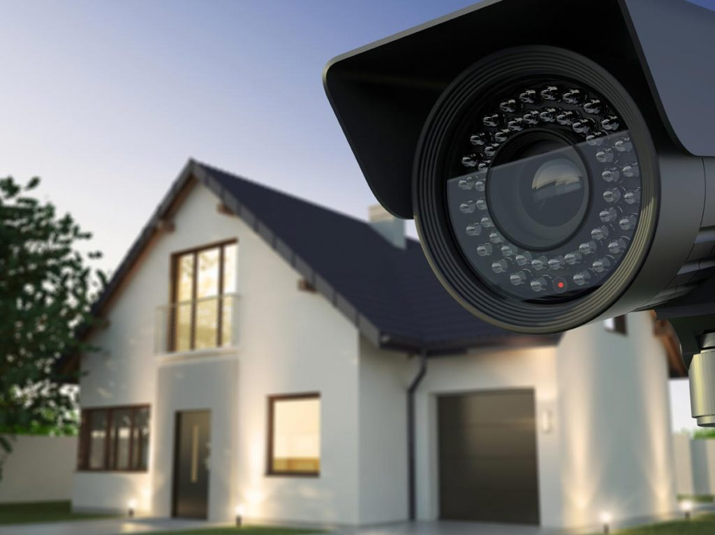 Home Security Systems Using Local Security Service