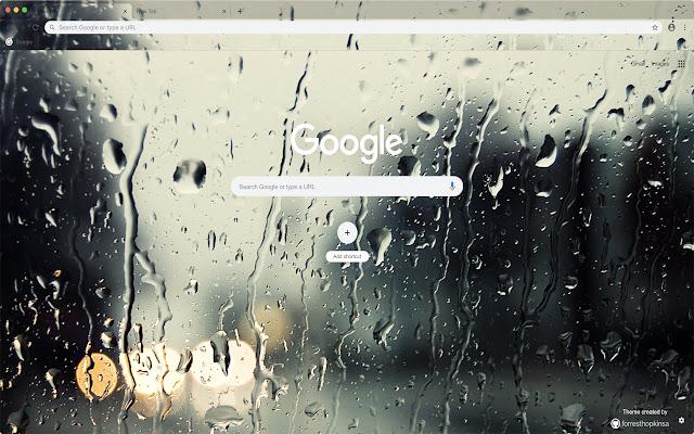 Rain Drops Theme