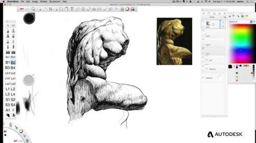 Autodesk Sketch book